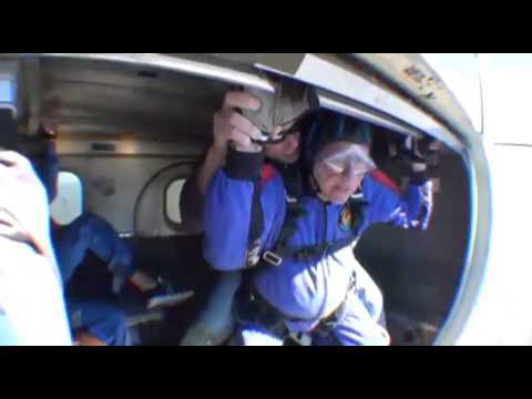 Thomas Mooney SKYDIVES!!!
