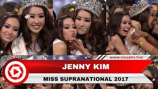 Jenny Kim, Miss Supranational 2017, Dibesarkan di Indonesia