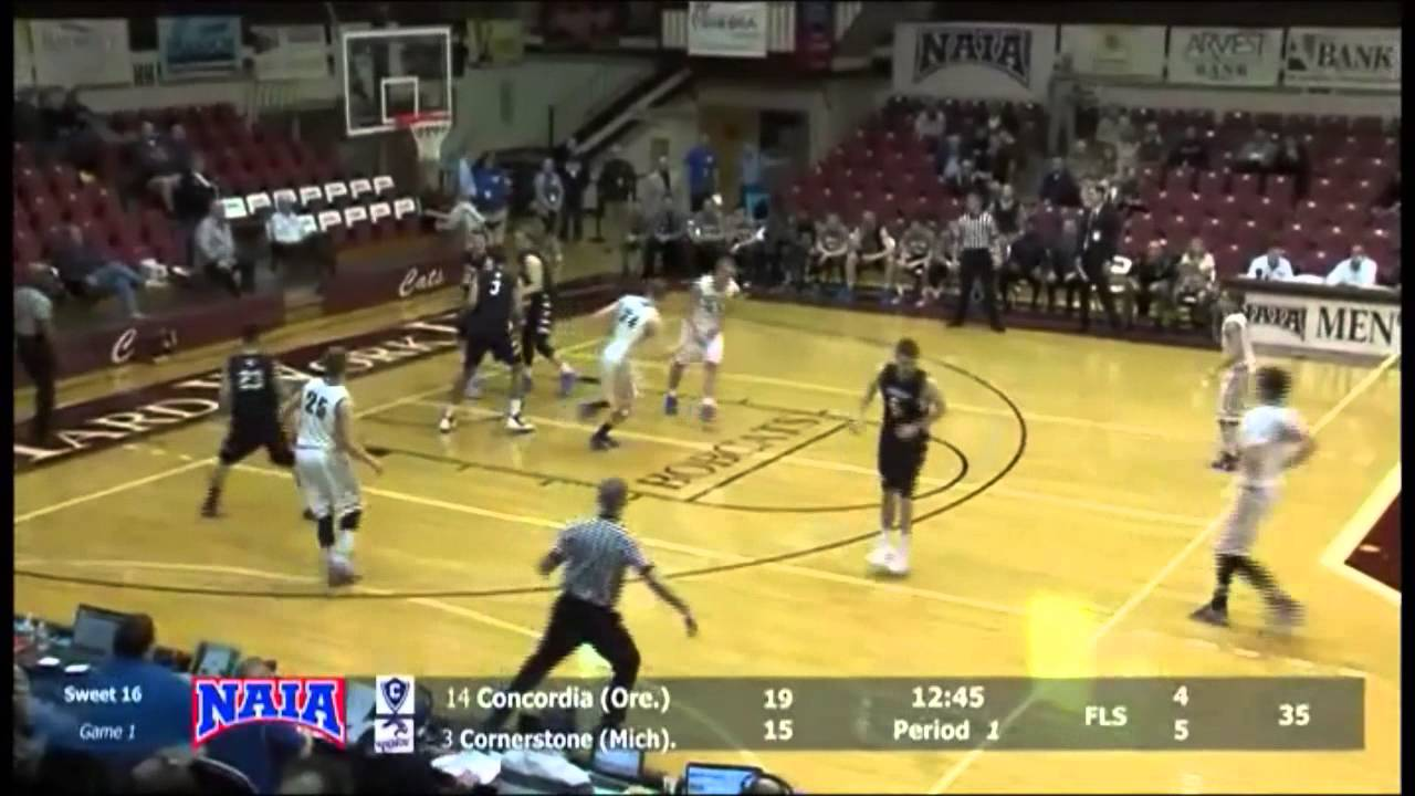 2014-2015 Cornerstone Men's Basketball Highlight Video