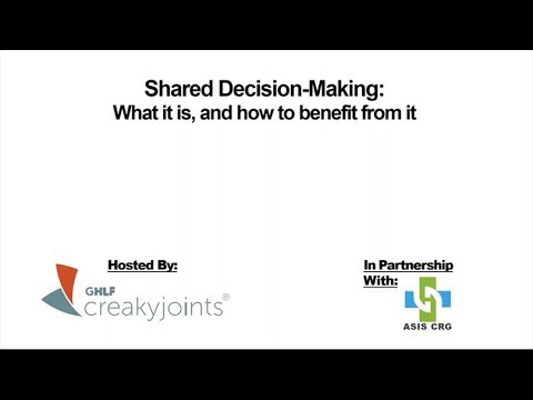 Shared Decision Making: What It Is, and How to Benefit From It
