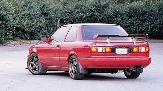 El Sentra B13 SE-R es el Nissan Deportivo Olvidado Que Deberías Tener