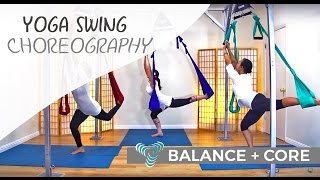 Suspension Fitness Balance and Core on Omni Gym Yoga Swing