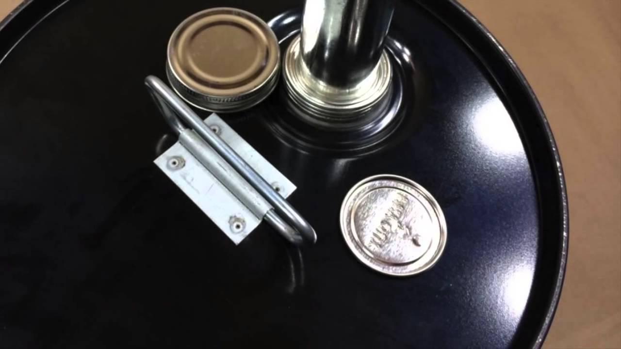 1 Gallon Metal Bucket