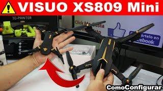 Nuevo VISUO XS809 Mini Español Unboxing y Primer Vuelo - Mejor Mini Drone 2019