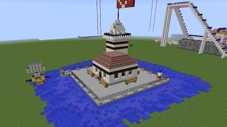 Kız kulesi VS Galata Kulesi - Minecraft Modern Evler