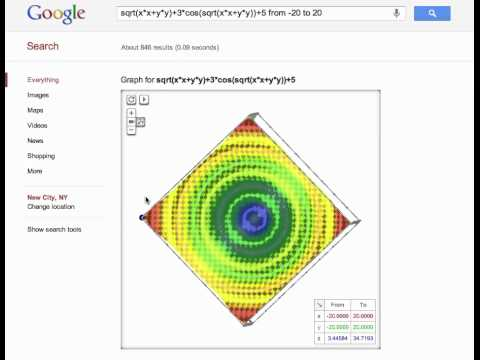 Google 3d Graphs Now Available