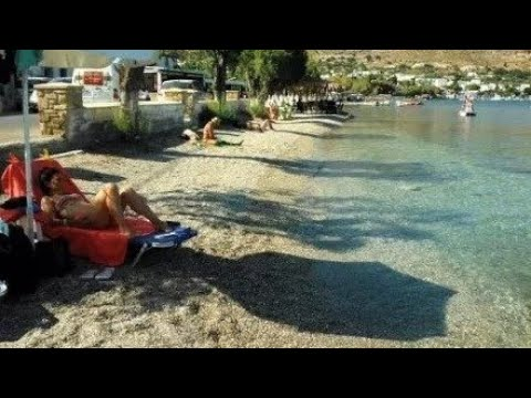 Alinda Beach Leros Greece YouTube