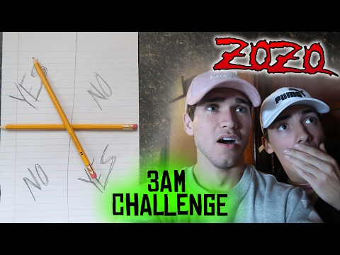 ( ZOZO ) 3AM OVERNIGHT CHALLENGE // 3AM CHARLIE CHARLIE CHALLENGE GONE WRONG