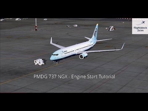 PMDG 737 NGX - REAL BOEING PILOT - Engine Start Procedure