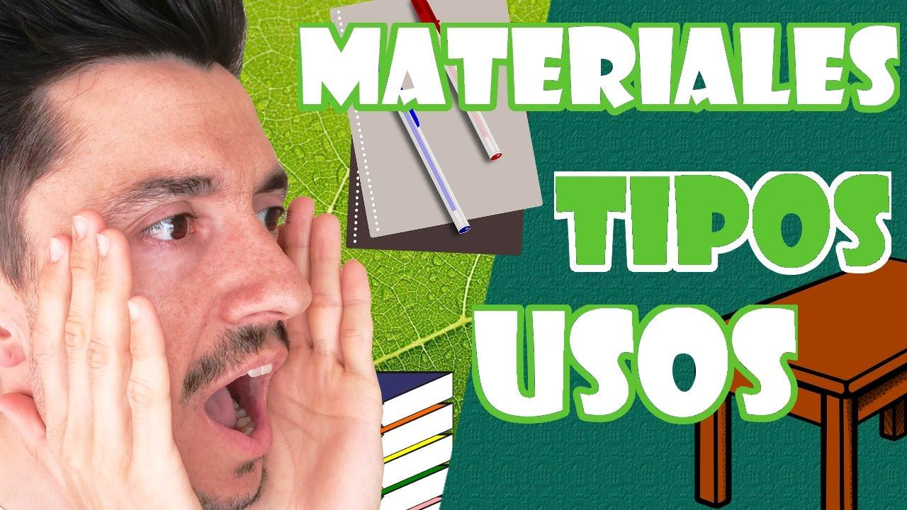 Materiales Naturales Y Artificiales Para Niños