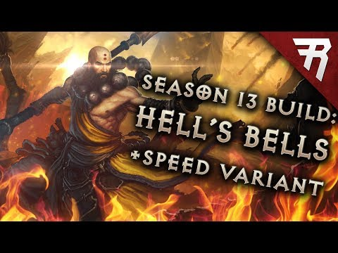 Diablo 3 Best Monk Build: Speed and GR 119+ Sunwuko Wave of Light (2.6.1 Season 13 Guide)
