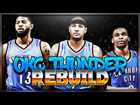 BEST TEAM EVER! CARMELO ANTHONY THUNDER REBUILD!!