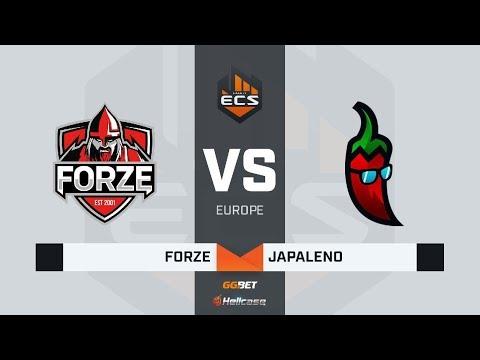 [RU] forZe vs Japaleno | Map 1: Overpass | ECS Season 8 Europe