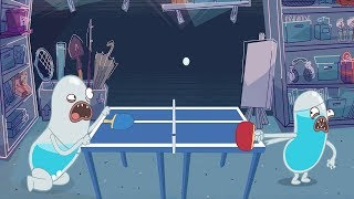 HYDRO and FLUID   Table Tennis   HD Full Episodes   Funny Cartoons for Children