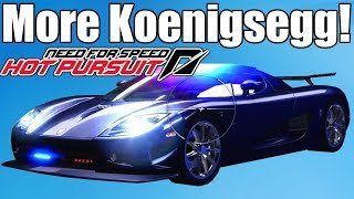 Need For Speed Hot Pursuit Koenigsegg Police Gameplay!