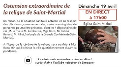 Translation de la relique de saint Martial