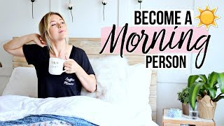 How To Become A Morning Person | Ashley Nichole