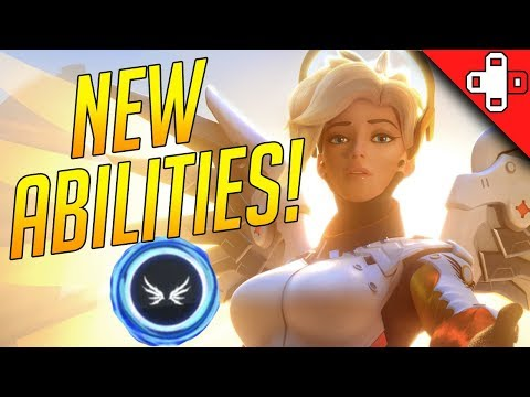NEW ABILITIES for D.Va and Mercy! Live on PTR