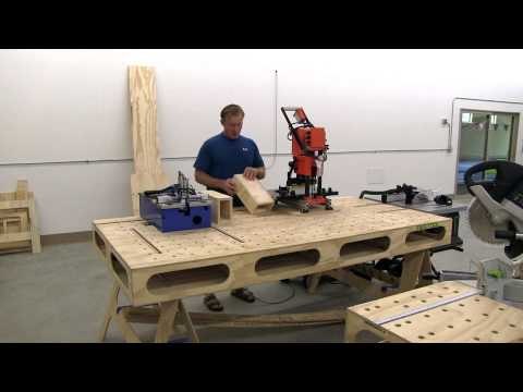 WOOD WORKING AT THE RIGHT HEIGHT