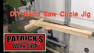 Diy Band Saw Circle Jig. 030