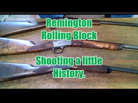 Image result for Remington Rolling Block - Shooting a little History