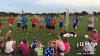 Element Soccer School 2014 Begins