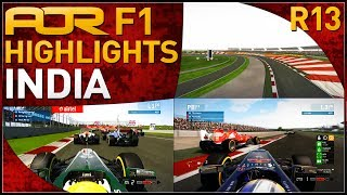 F1 2013 | AOR F1: S7 Round 13 - Indian Grand Prix (Official Highlights)