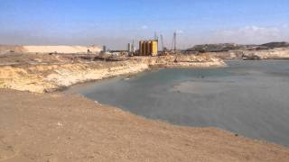 The first video of the new southern entrance to the Suez Canal, a miracle! 1