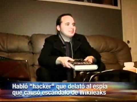 Este es el -hacker- que delató al espía de Wikileaks Video.wmv