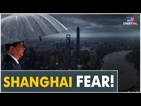 Fear and chaos grip Shanghai as 'Super Typhoon' fast approaches China's financial capital