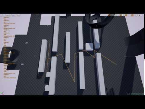 UE4 Vehicle Pathfinding Algorithm update