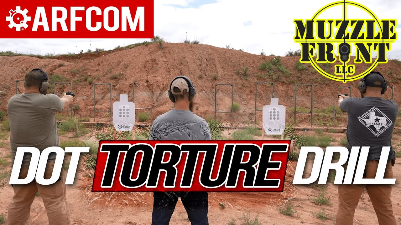 Dot Torture: Can this easy drill save YOU hundreds of rounds?