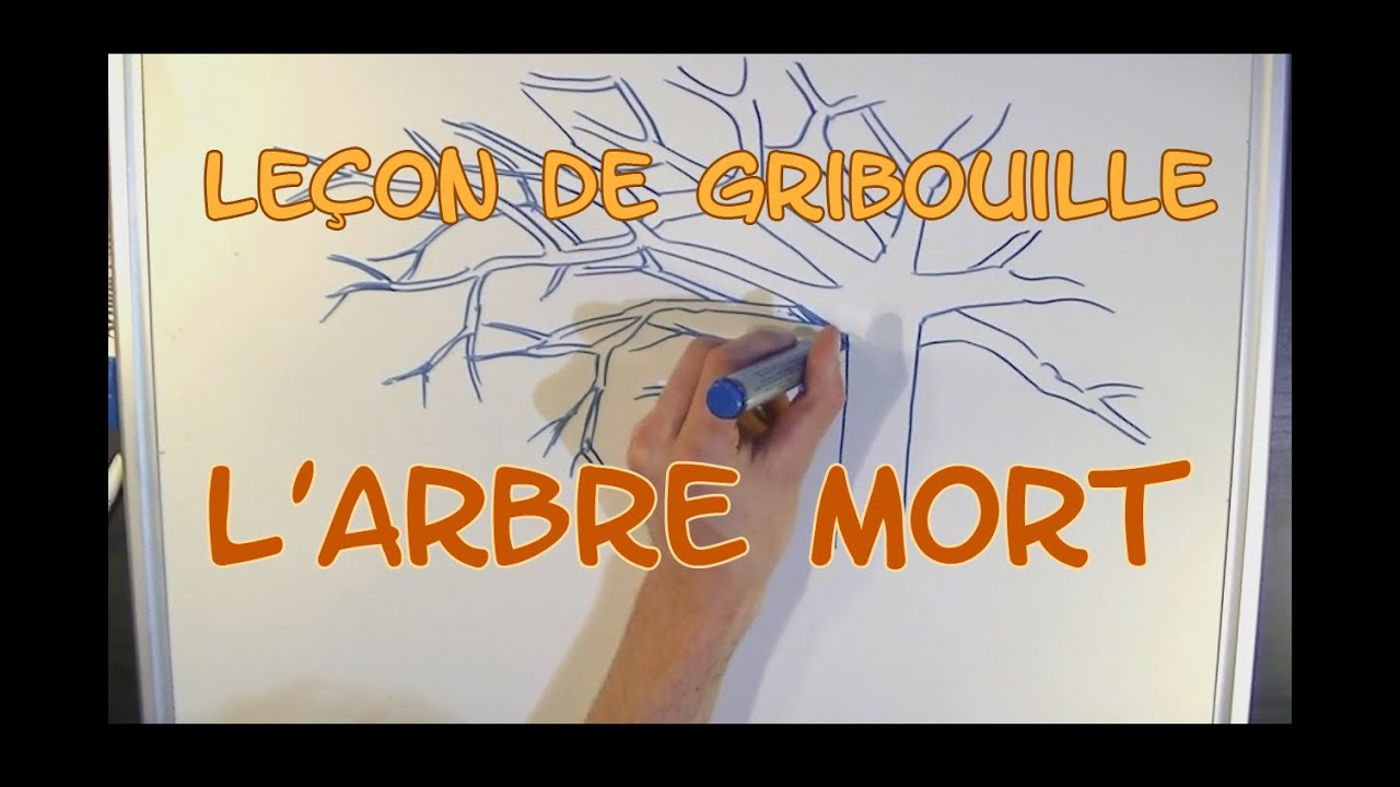 comment bien dessiner un arbre mort youtube. Black Bedroom Furniture Sets. Home Design Ideas