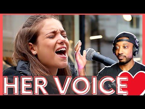 HER VOICE 🙌🏽 John Legend All Of Me Allie Sherlock Saibh Skelly REACTION
