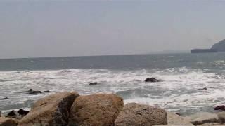 2010年4月29日 愛知県渥美半島先端の伊良湖岬・恋路ガ浜.