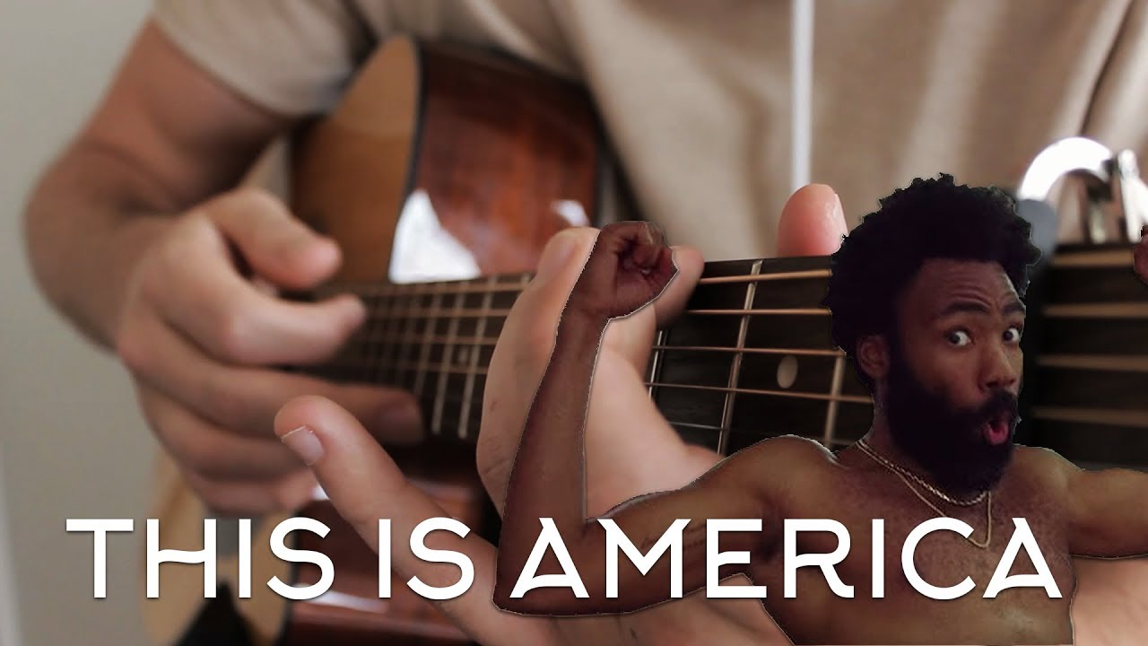 Childish Gambino - This is America on Acoustic Guitar