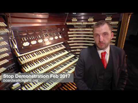 Steven Ball tour of stops World's Biggest Pipe Organ Atlantic City
