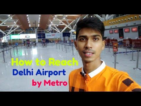 DELHI AIRPORT METRO EXPRESS LINE :- New Delhi to IGI Airport Terminal 1D