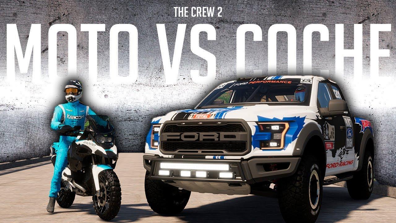 que es mejor coche vs moto en rally raid con dadxter the crew 2 braxxter youtube. Black Bedroom Furniture Sets. Home Design Ideas