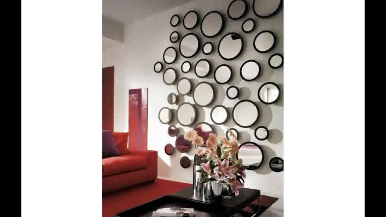 Decorative wall mirror tiles youtube for Miroirs decoratif