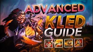 Advanced Kled Top Guide Season 9: Become A Challenger Kled God in 20 mins!