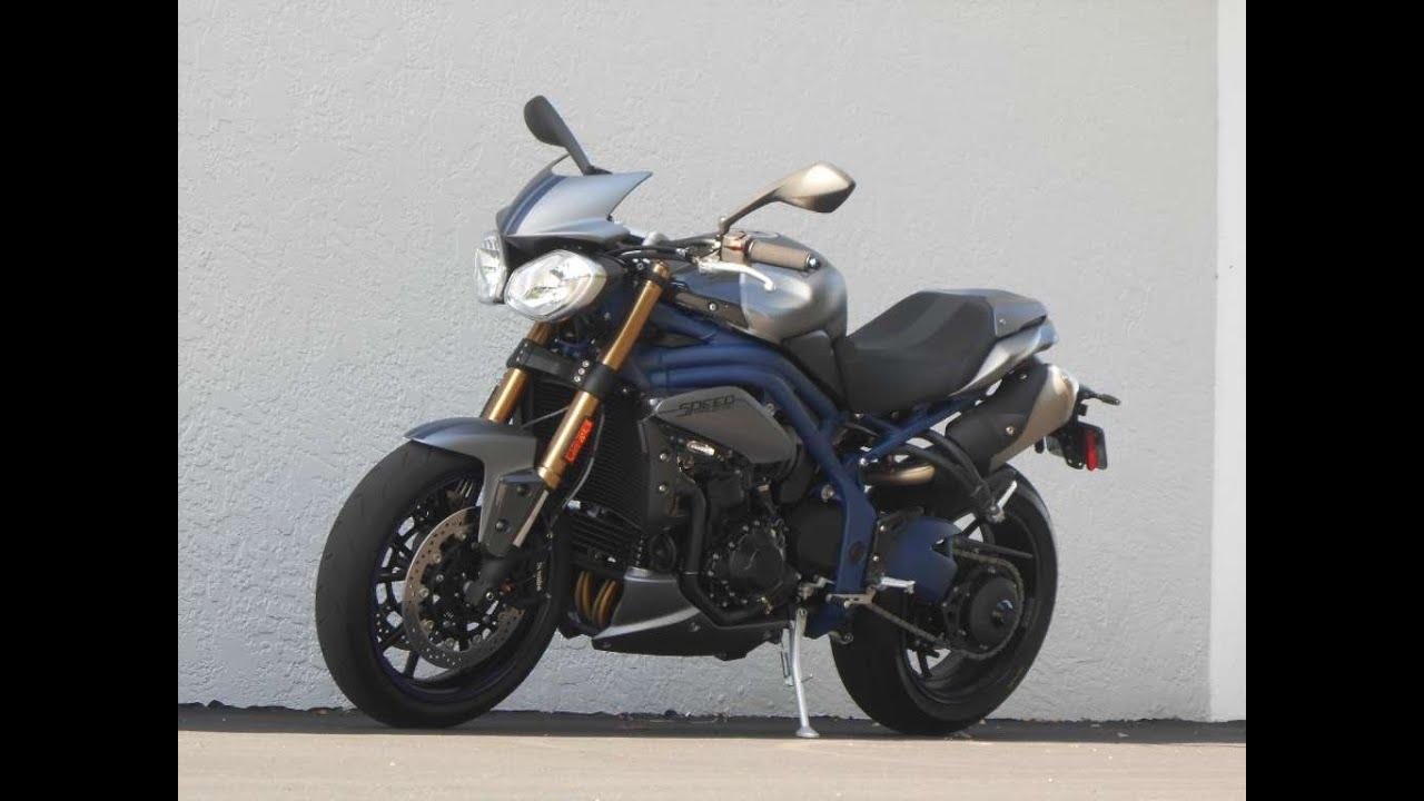 2013 Triumph Speed Triple SE Ride Video! Gulf Coast Motorcycles Ft ...