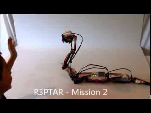 LEGO Mindstorms 31313 EV3 R3PTAR Robot ... amazing - YouTube