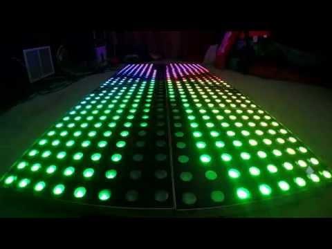 DJ Razo Sound & Lights - Illuminated Dance Floor Omaha, NE (LED Dance Floor)