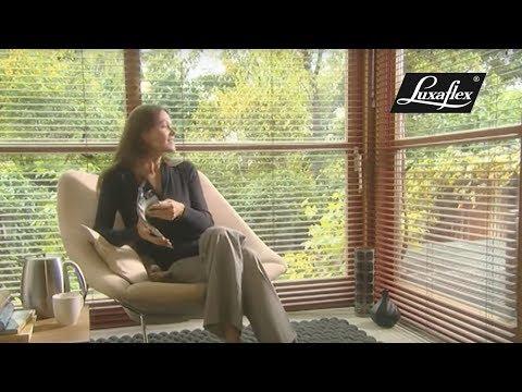 Luxaflex® Venetian Blinds Megaview® - Double the view