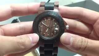 Comprei Mostrei: relógio de madeira Thumbnail