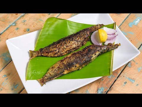 Fish Fry Without Oil | Sardine Fish Fry Without Oil | Manchatti Kitchen
