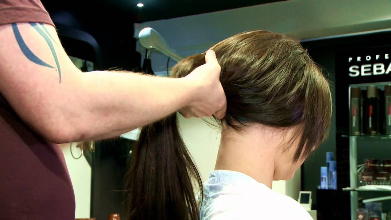 Weft hair extensions create ponytail youtube pmusecretfo Images