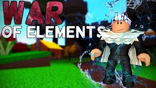 Roblox - War of the Elements (release) (NEW!)