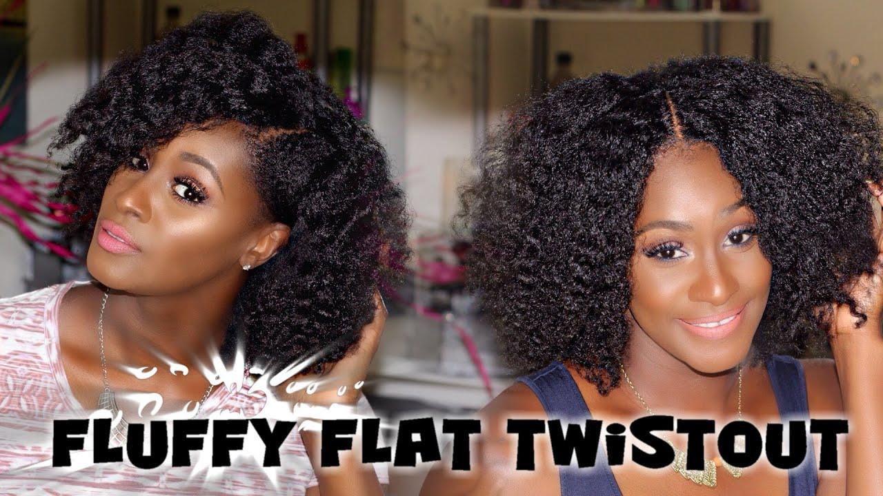 Fluffy Flat Twist Out